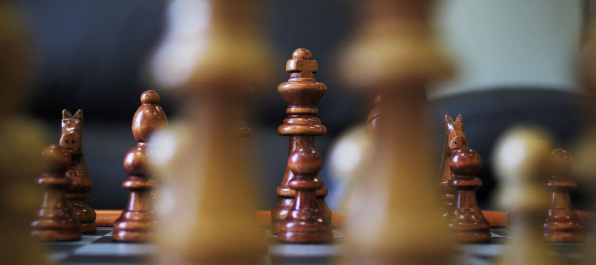 Chess is a long game.